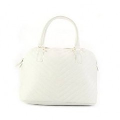 Luxury White Fashion Handbag
