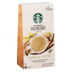 Starbucks VIA Instant Vanilla Latte