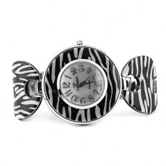 Zebra Skin Embossed Watch