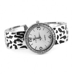Zebra Embossed Watch
