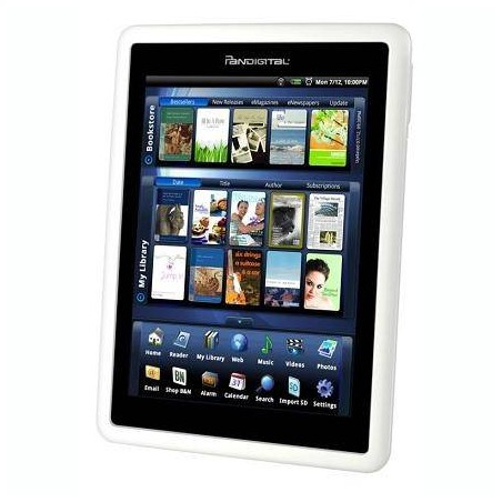 "Pandigital Novel 7"" 4GB Touchscreen Wifi Android eReader Tablet"
