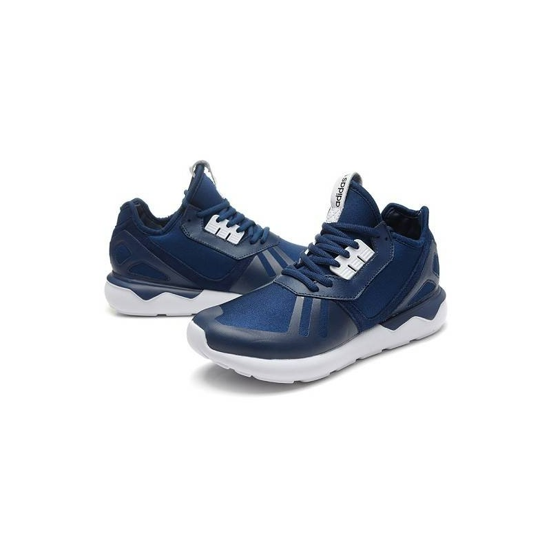 sale retailer 8b62c 44296 ADIDAS TUBULAR RUNNER SNEAKERS BLUE