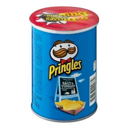 PRINGLES - Chips Salt & Vinegar 42G X 12 Pack